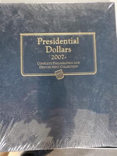Whitman Classic Album Presidential Dollars 2007--