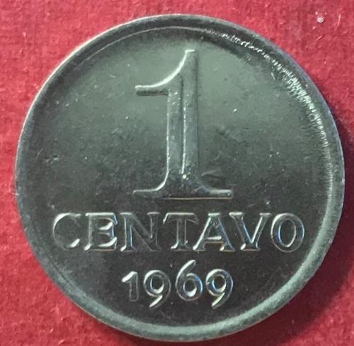Brazil 1969 = 1 Centavo [#2]