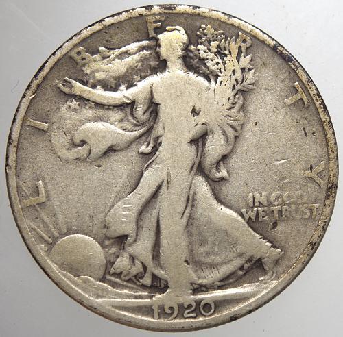 1920 P Walking Liberty Half Dollars #15