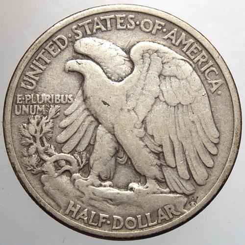 1934 P Walking Liberty Half Dollars #15