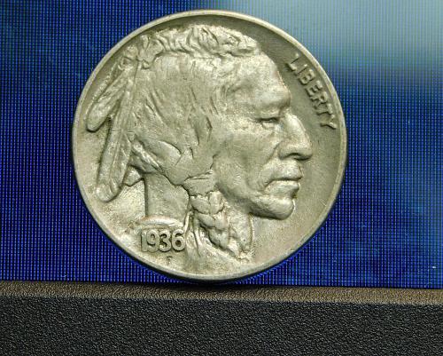 1936 P  Buffalo/Indian Head Nickel