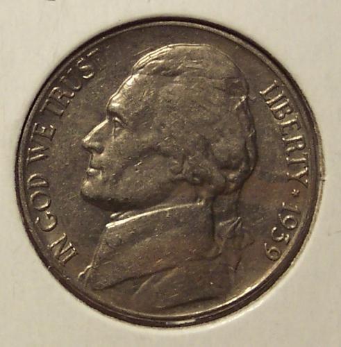 1939-S Jefferson Nickel AU #0062
