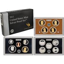 2011 Silver 14 Coin Proof Set