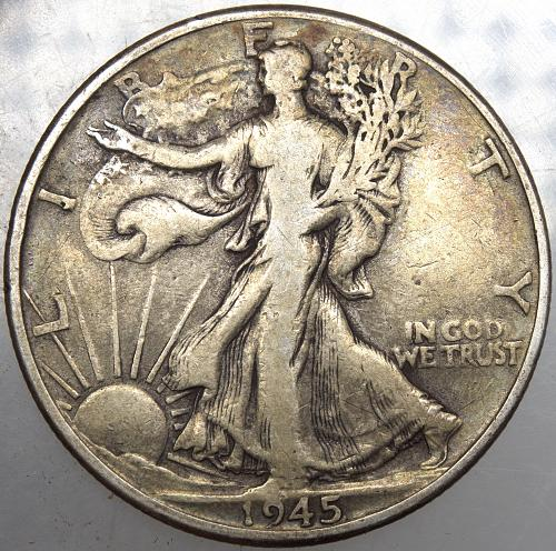 1945 P Walking Liberty Half Dollar #2