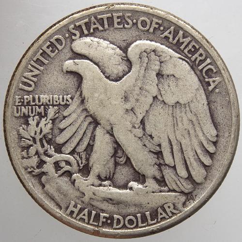 1945 P Walking Liberty Half Dollar #15