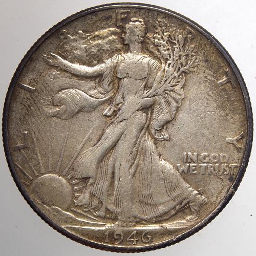 1946 P Walking Liberty Half Dollar #15
