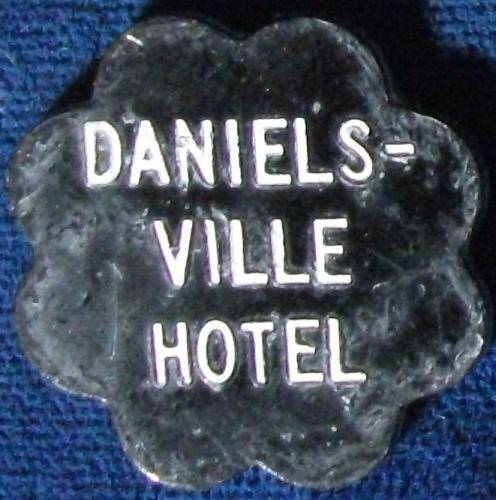 Danielsville Hotel Good For 5 Cents In Trade