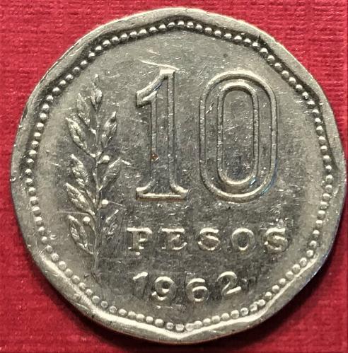Argentina 1962 - 10 Pesos