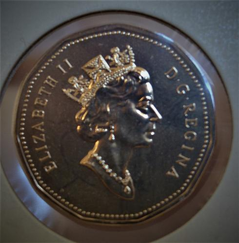 1995 Canada One Dollar Prooflike - Loonie