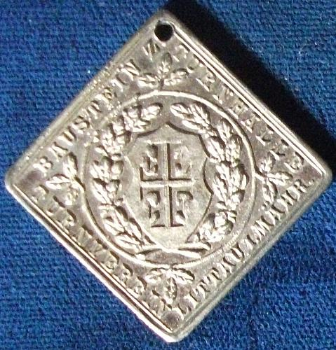 Friederich Ludwig Jahn Medallion, 39mm