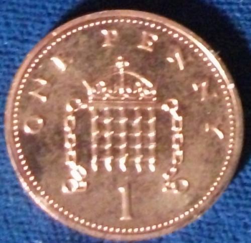 1986 Great Britain Penny BU
