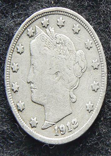 1912 P Liberty Nickel (F-12)