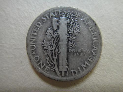 1920 Mercury Dime Fine-12