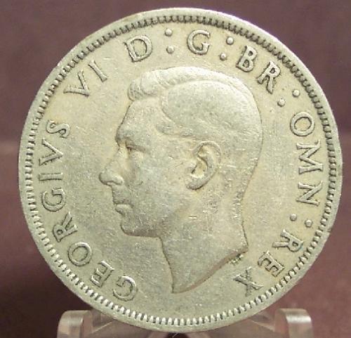 KM#879 1950 Great Britain Half Crown #0129