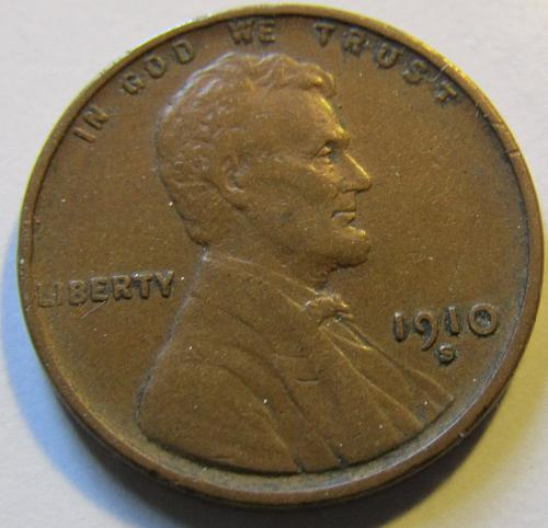 1910-S Lincoln Wht. Cent Reduction 29% $avings! until 11/26 ////