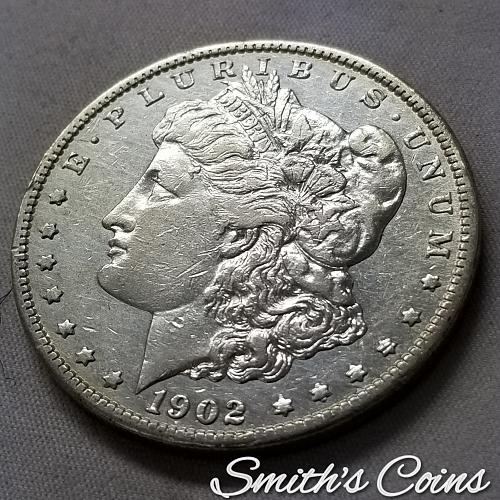 1902 O ~ Morgan Dollar ~ VF