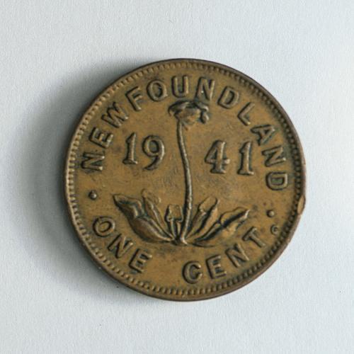 1941 Newfoundland One Cent