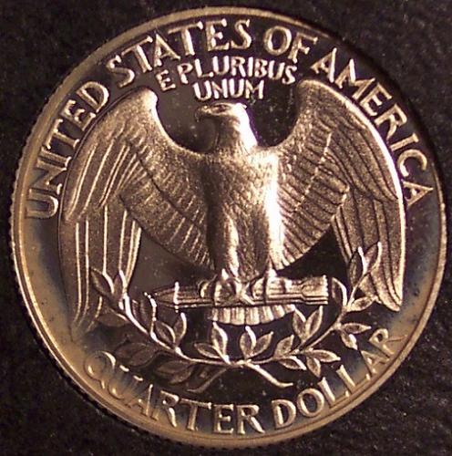 1988-S Proof DCAM Washington Quarter PF65 #0148