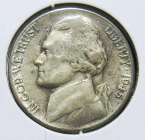 1945 S Jefferson Nickel