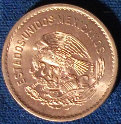 1945 Mexico 5 Centavos UNC