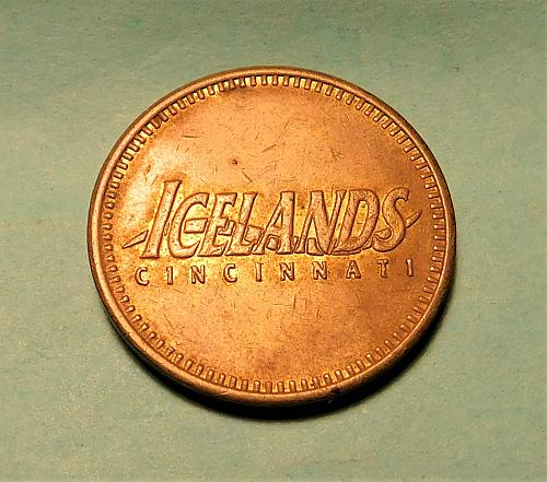 Cincinnati Icelands and Car Wash Tokens