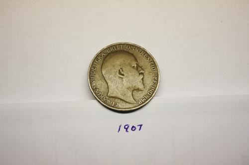 GREAT BRITIAN PENNY FROM THE 1907 era with EDWARDS VII on coin