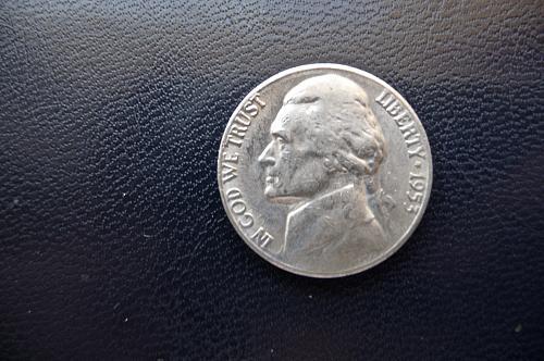 1953-S Jefferson Nickel