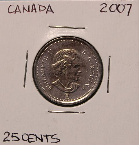Canada 2007 25 cents