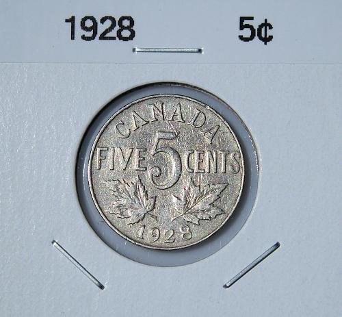 Canada 1928 - Nickel