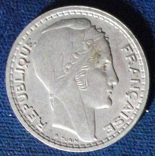 1947 France 10 Francs AU