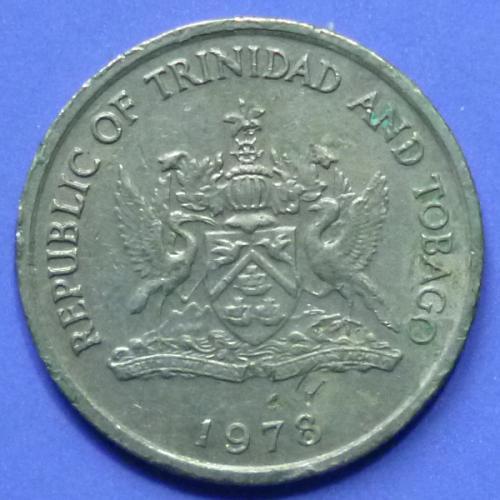 Trinidad and Tobago 10 Cents 1978 km 27