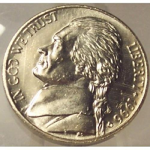 1996-D Jefferson Nickel MS64 FULL STEPS In the Cello #0210