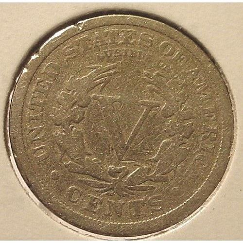 "1912 Liberty Head ""V"" Nickel G4 #0222"