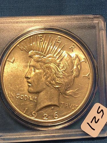 Peace Dollar 1926-S
