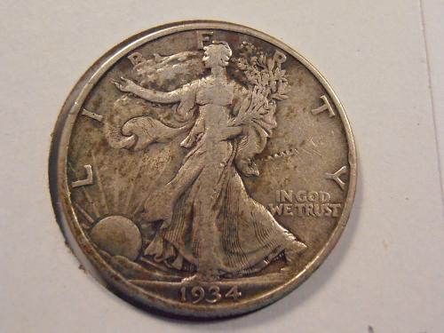 1934 P Walking Liberty Half Dollar (34PH2)