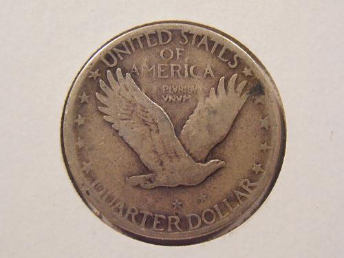 1926 S Standing Liberty Silver Quarter,   (26S1)