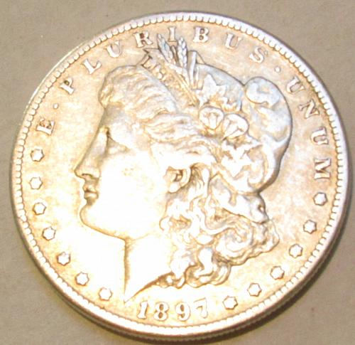 1897s Morgan Dollar