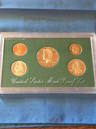 Proof Set; U.S. Mint 1996