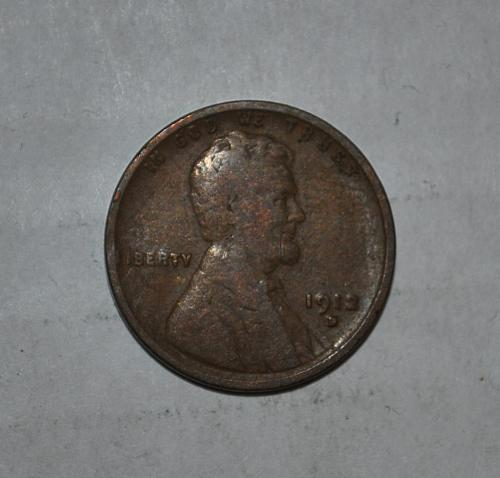 1912 D Lincoln Wheat Cent Small Cent
