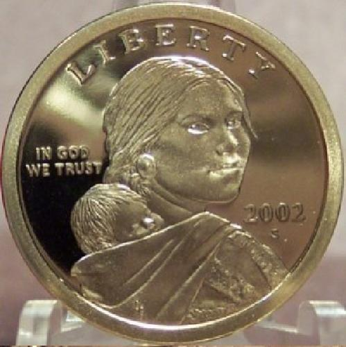 2002-S DCAM Proof Sacagawea Dollar PF65   #0256