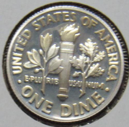 2003 S Silver Proof Roosevelt Dime