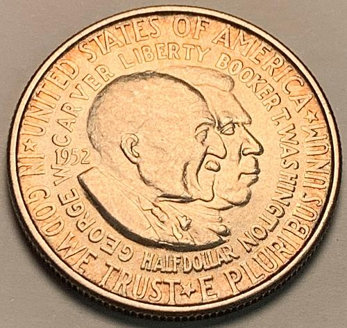 1952 George Washington Carver Commemorative Half Dollar XF [COM 17]