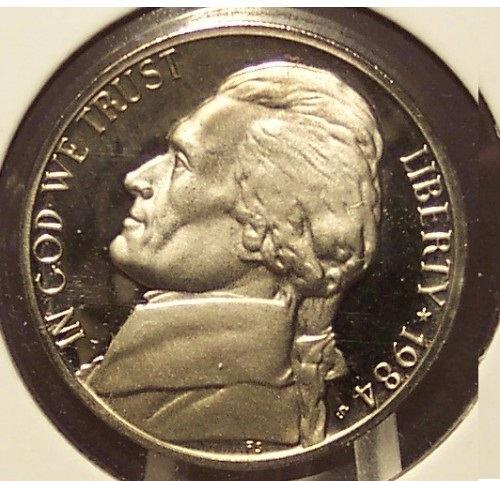 1984-S DCAM Proof Jefferson Nickel PF64 #0265