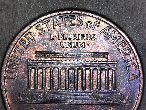 1995 - P penny grease filled die