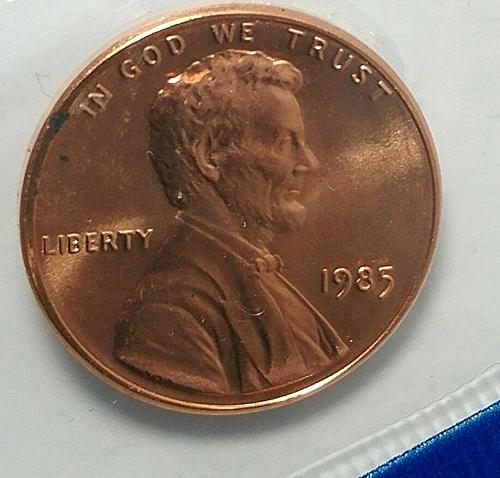 1985  P  LINCOLN CENT