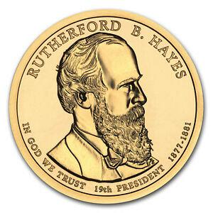 2011  P RUTHERFORD HAYES GOLDEN  DOLLAR