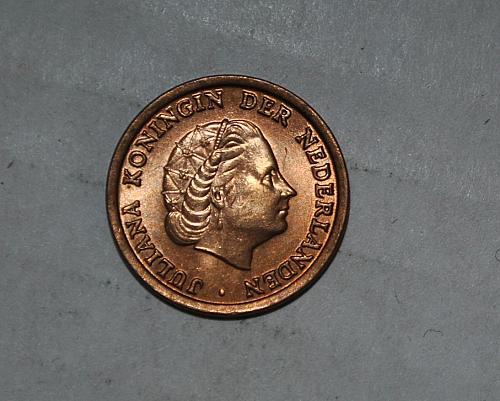 netherlands 1 cent 1953