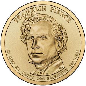 2010  P  FRANKLIN PIERCE GOLDEN  DOLLAR