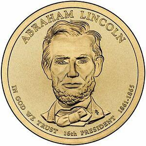 2010    P  ABRAHAM LINCOLN  GOLDEN  DOLLAR
