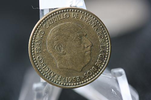 1953 Spain  1  Pesetas